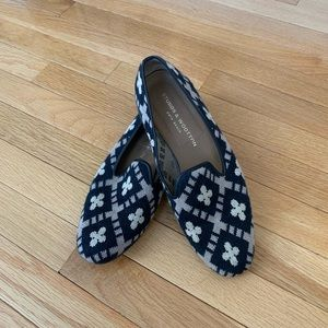 Stubbs and Wootton Needlepoint Loafers
